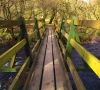 photo of wooden footbridge